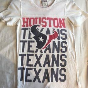 Vs pink Houston Texans Tshirt